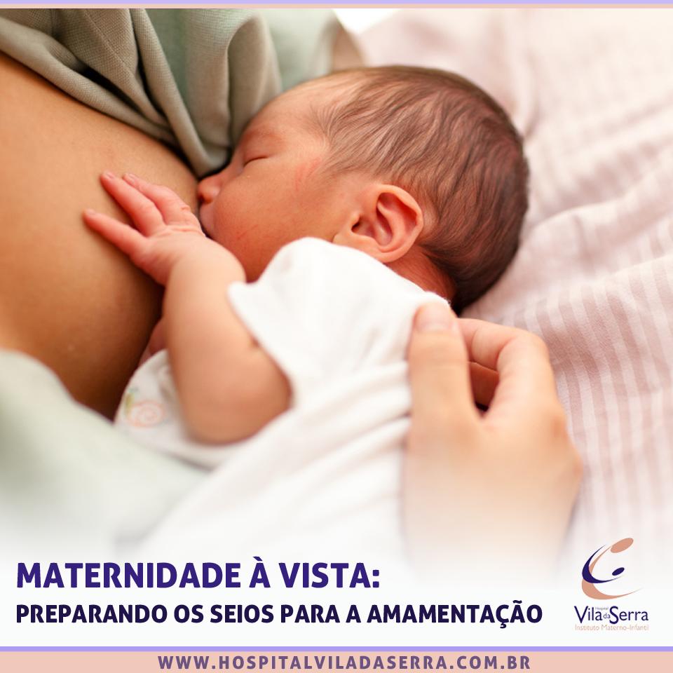 Maternidade à vista: preparando os seios para a amamentação