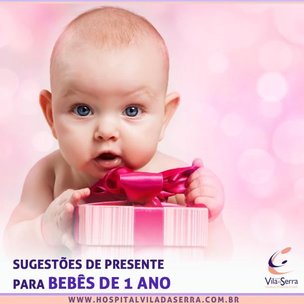 sugestões de presente para bebês de um ano
