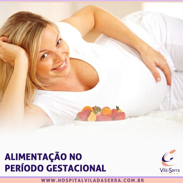 alimentação gravidez