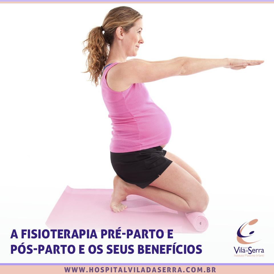 fisioterapia pré parto e pós parto e seus benefícios