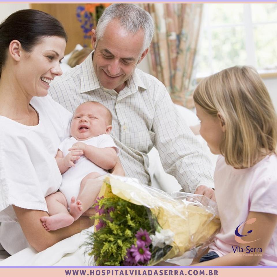 visita maternidade