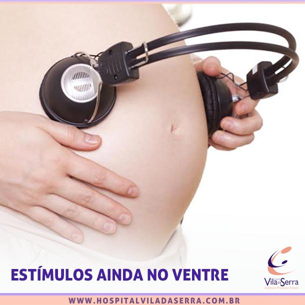 música na gravidez